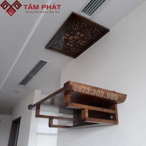 Bàn Thờ Chung Cư Treo Tường CC010