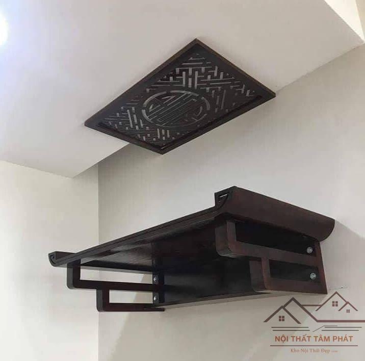 Mẫu bàn thờ treo tường đẹp Hà Nội