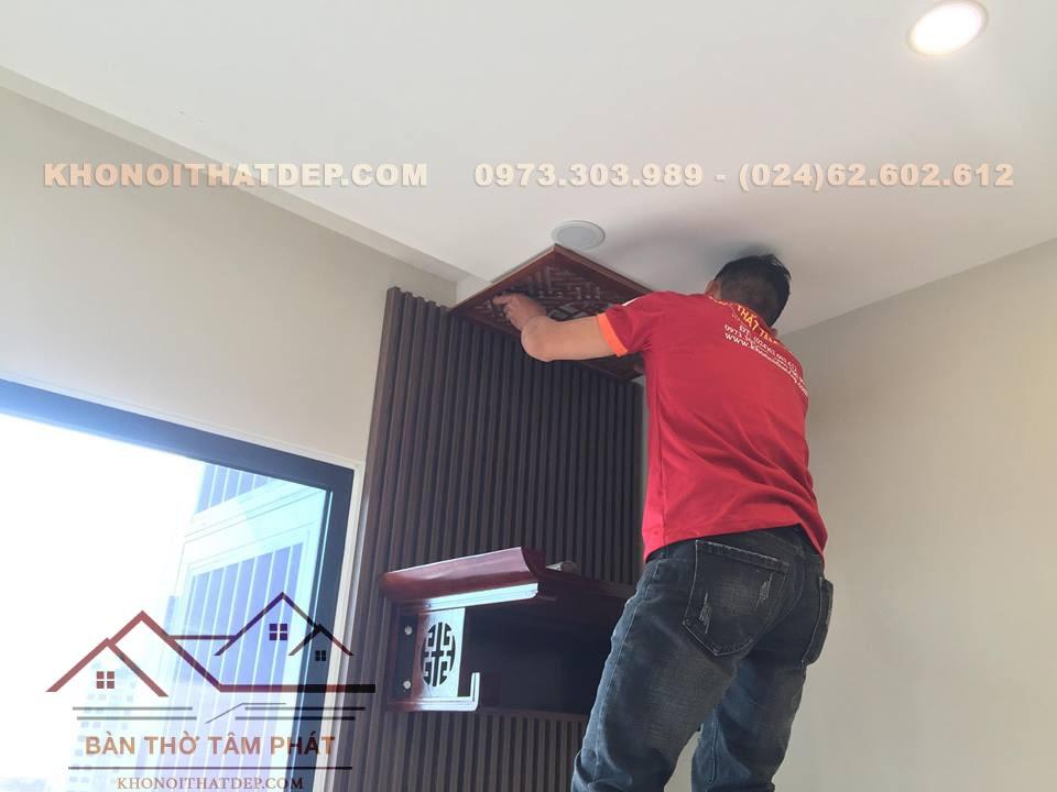Hướng dẫn lắp đặt tấm chống ám khói trần nhà