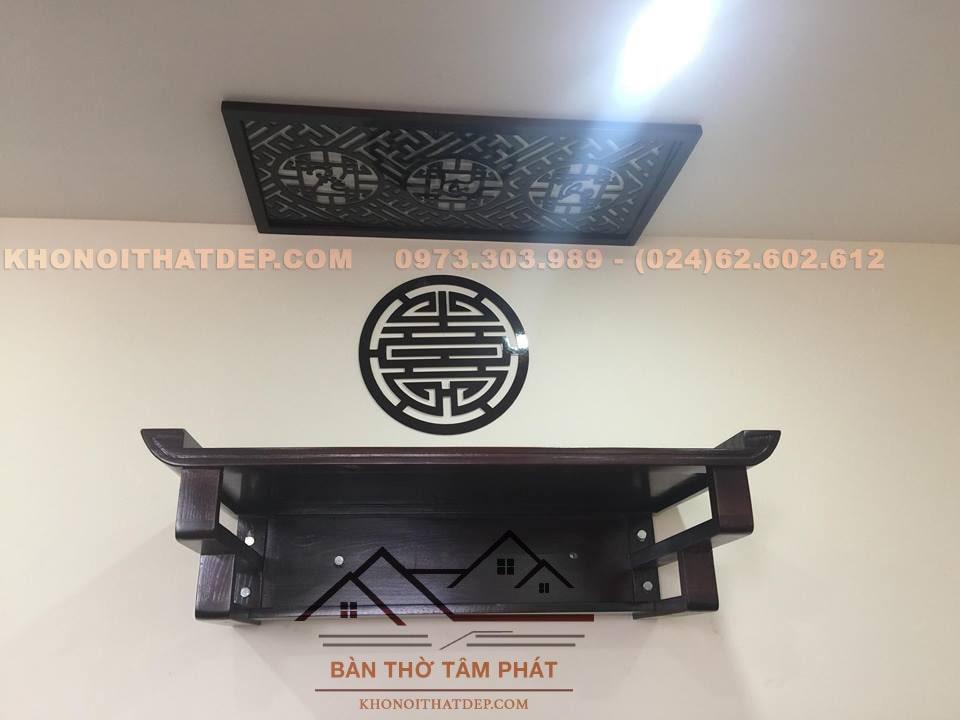 Mẫu bàn thờ TT0011 có thiết kế đơn giản, sang trọng
