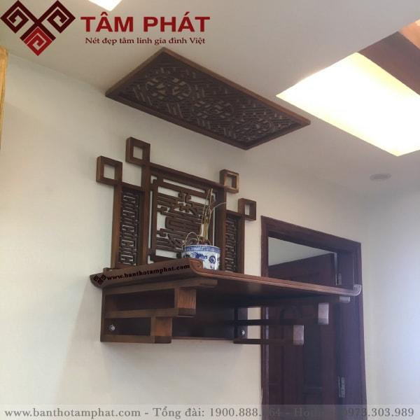 Bàn thờ treo tường mẫu TT012