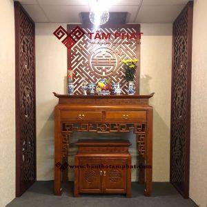 Bàn thờ đẹp hiện đại mẫu BT015 kích thước 61x127