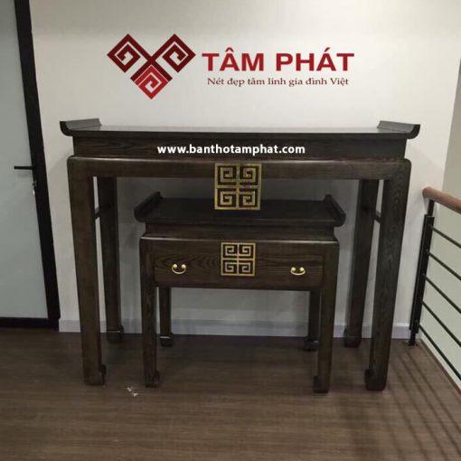 Mẫu bàn thờ kích thước 61x127