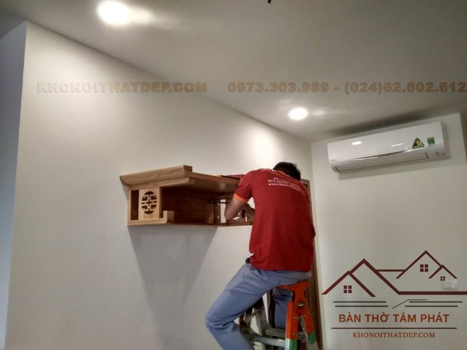 Bàn Thờ Treo Tường TT009 Tâm Phát