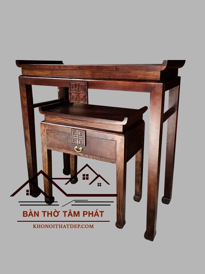 Reviews lắp bàn thờ căn hộ 117m2 CC Hoàng Anh Gia Lai, ĐN