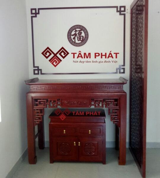 Feedback lắp bàn thờ nhà anh Lý cc Westa Coma, Hà Đông