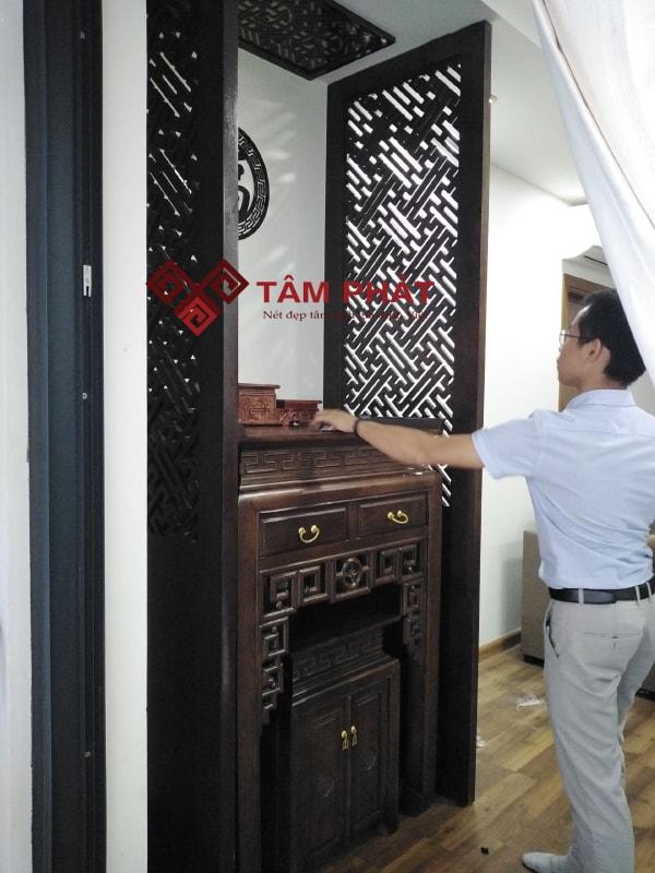 Feedback lắp bàn thờ từ chị Na cc Smile Building, Hoàng Mai