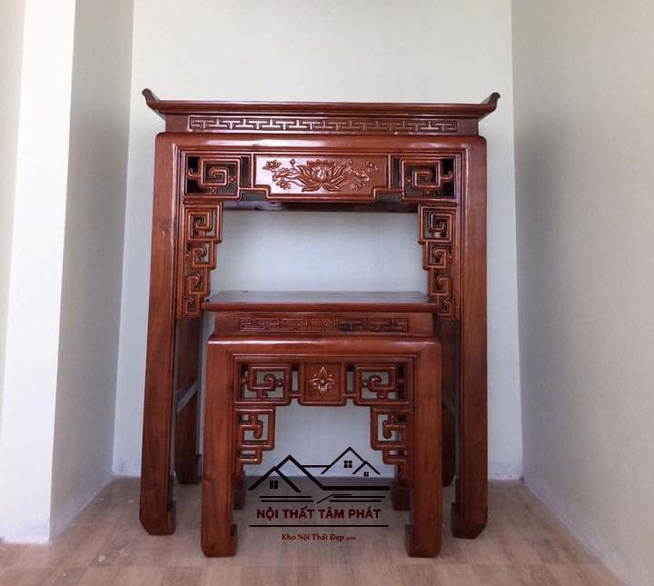 Mẫu bàn thờ hiện đại BT001 - phù hợp với không gian của mọi gia đình ngày nay