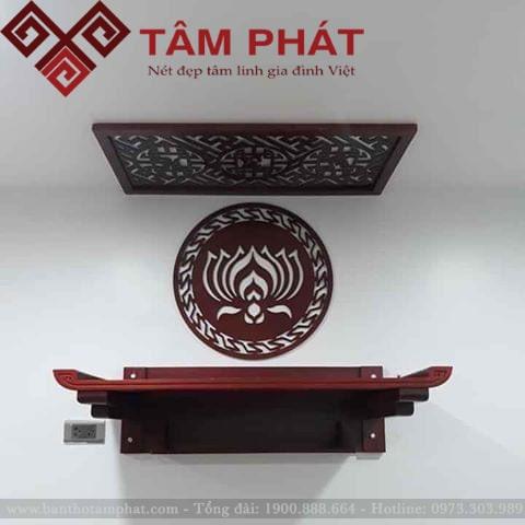 Mẫu bàn thờ treo tường tt0095