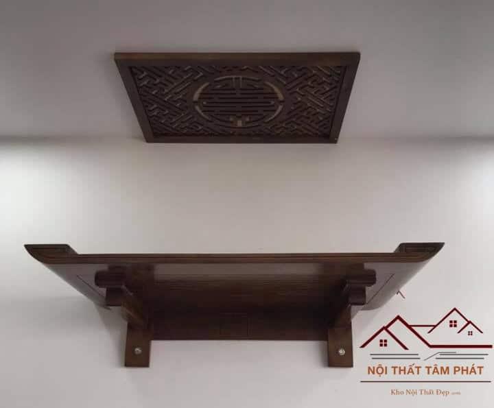 Mua bàn thờ treo tường đẹp tại Tâm Phát là một lựa chọn hoàn hảo