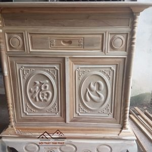 Tủ thờ gỗ gụ mẫu BTG020