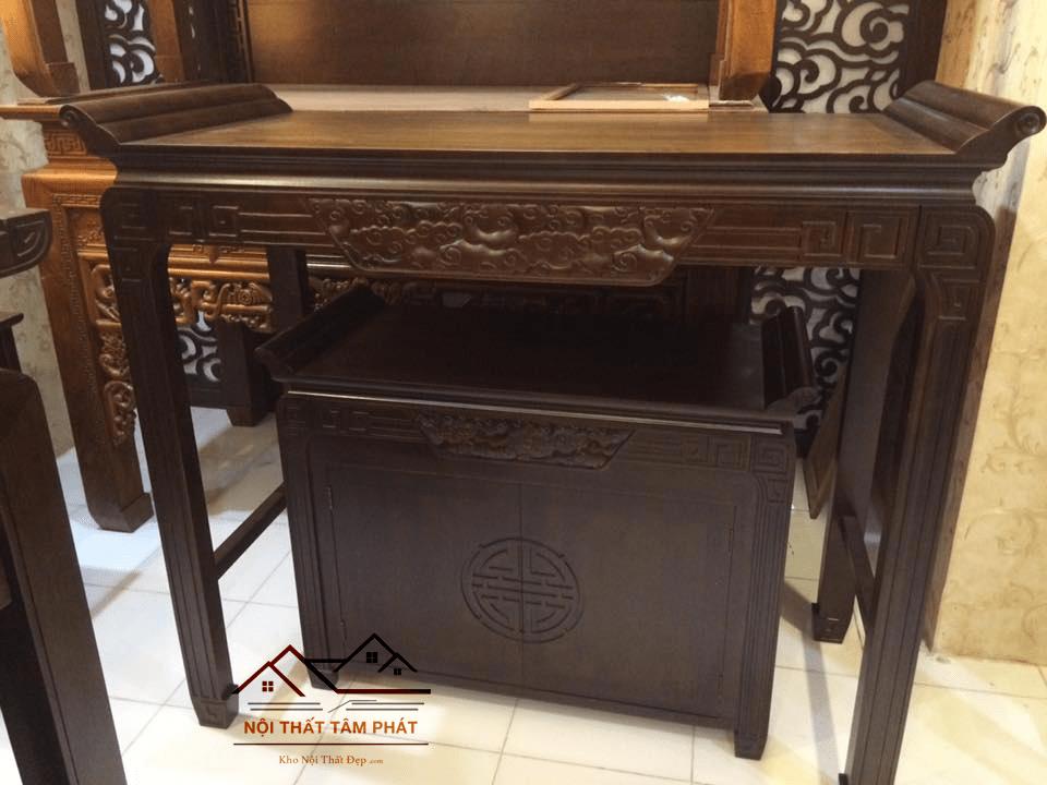 Reviews lắp đặt bàn thờ nhà chị Tâm chung cư 2F Quang Trung, HN