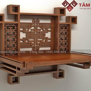 Mẫu bàn thờ treo đẹp nhất TT0054
