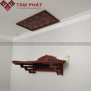Các mẫu bàn thờ treo tường đẹp - Bàn thờ Tâm Phát