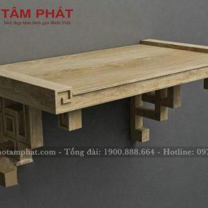 Bàn thờ treo tường đẹp mẫu TT0052