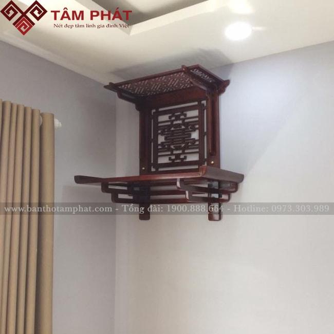 Mẫu bàn thờ treo đẹp nhất TT0054 Tâm Phát