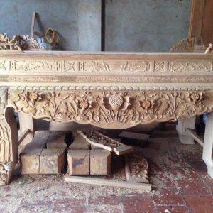 Sập thờ gỗ Gụ cao cấp mẫu STG011