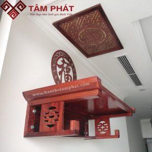 Bàn thờ treo tường gỗ Hương