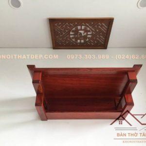 Bàn thờ treo tường gỗ hương mẫu TT002 thu hút từ sự đơn giản nhất