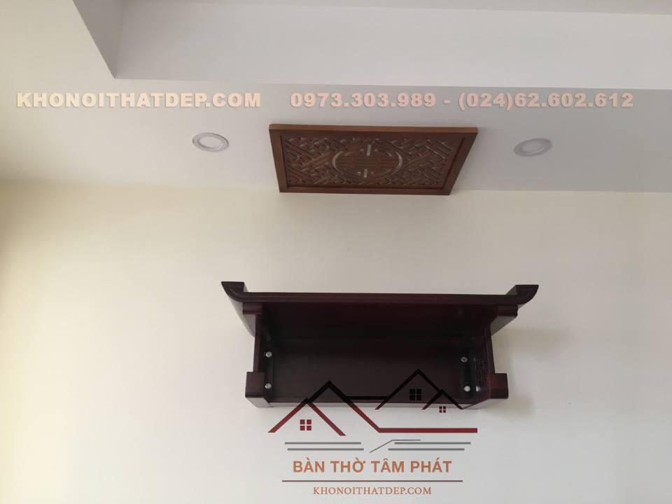 Bàn Thờ Treo Tường TT022 Tâm Phát đẹp hiện đại