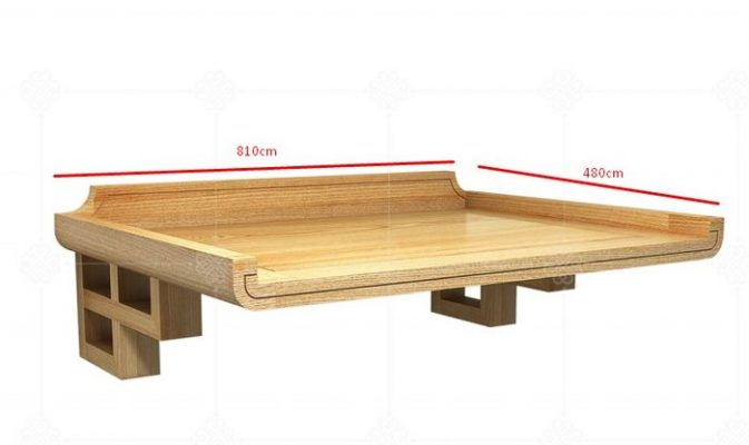 Một trong những yếu tố ảnh hưởng rất lớn tới phong thủy thờ cúng chính là kích thước bàn thờ treo tường