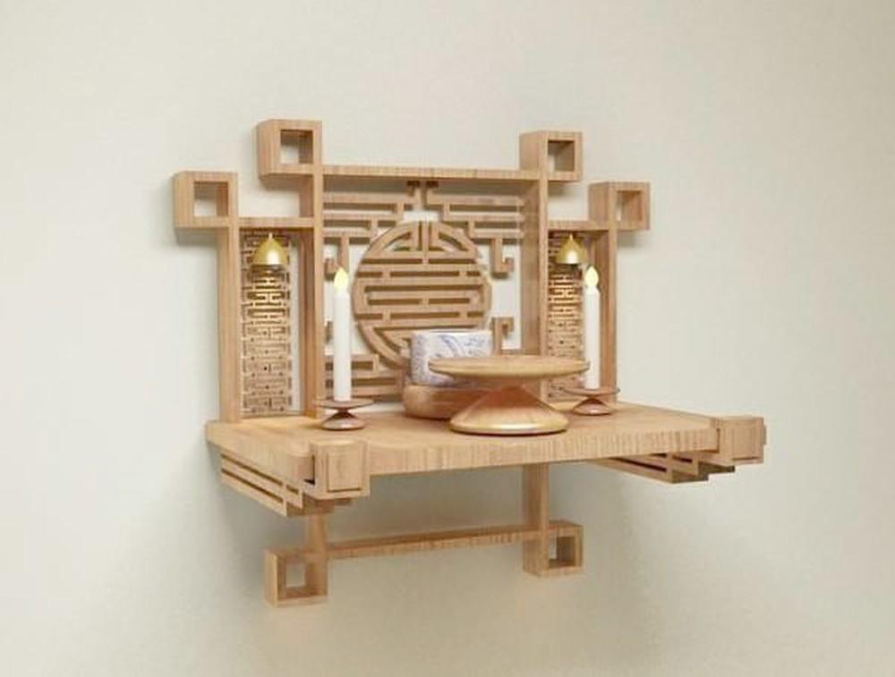 Kích thước bàn thờ có hợp với không gian và chuẩn phong thủy cũng là 1 yếu tố