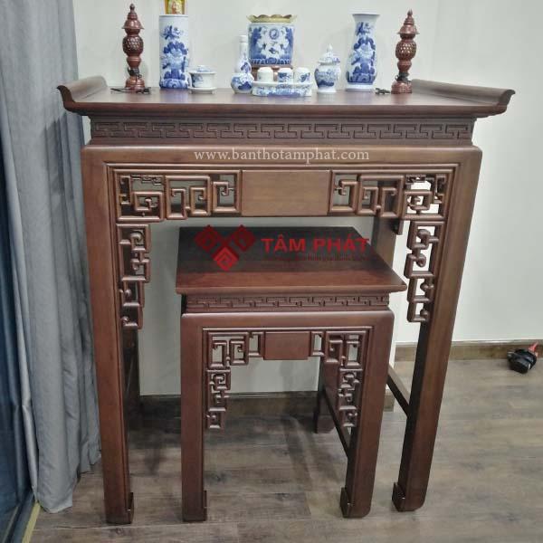 Bàn thờ gỗ Gụ mẫu BTG036 Tâm Phát
