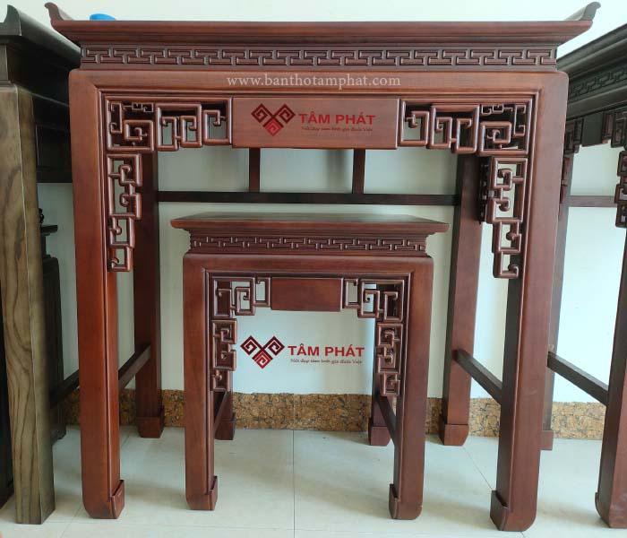 Mẫu bàn thờ gỗ đẹp BTG036 lôi cuốn ngay từ giây phút ban đầu