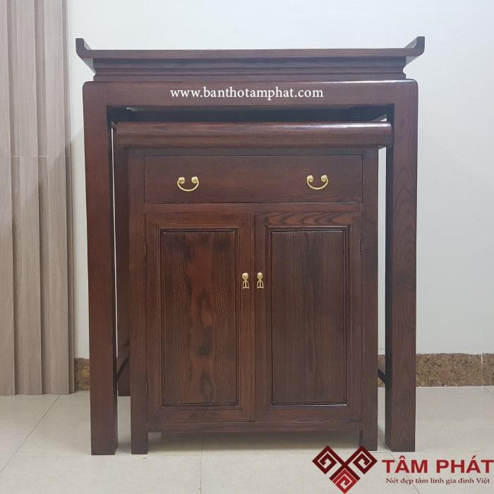 Mẫu bàn thờ đẹp BT040 - sản phẩm đang được ưa chuộng nhất tại Tâm Phát