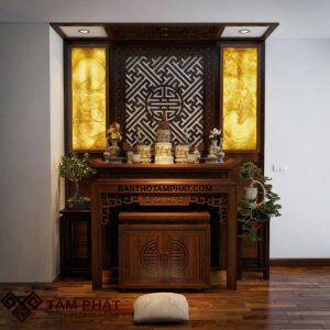 Mẫu phòng thờ đẹp M048