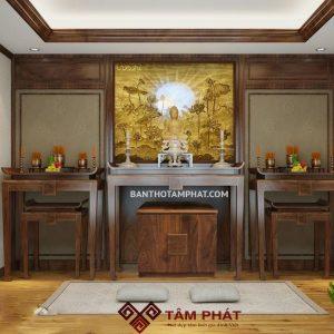 Mẫu phòng thờ riêng đẹp