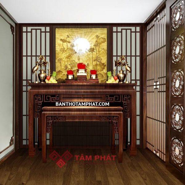 Mẫu phòng thờ đẹp M33
