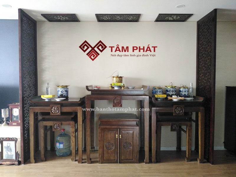 Bàn thờ Tâm Phát - đồng hành cùng vẻ đẹp tâm linh Việt
