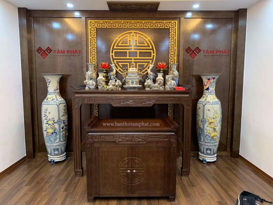 Hướng dẫn chọn mẫu bàn thờ đẹp tăng thẩm mỹ cho căn hộ chung cư