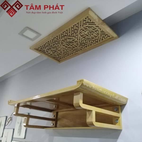 Những mẫu bàn thờ treo tường Hà Nội chất lượng nhất