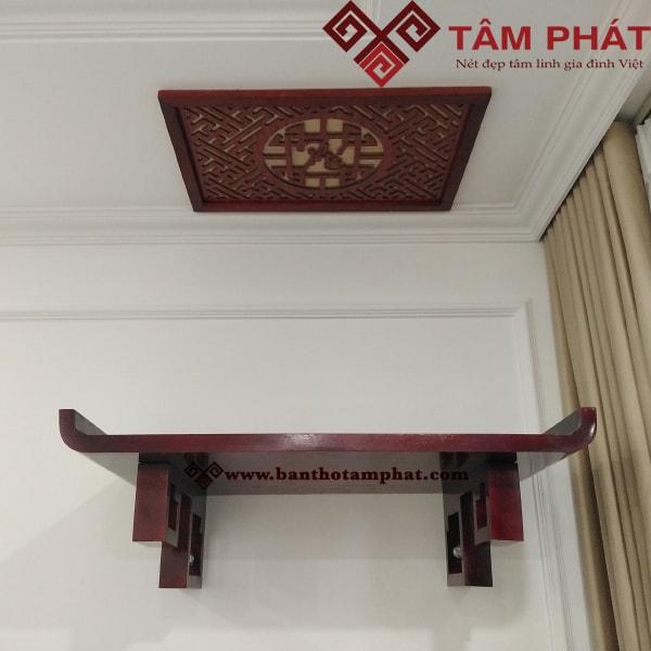Mẫu bàn thờ treo tường hiện đại TT0098