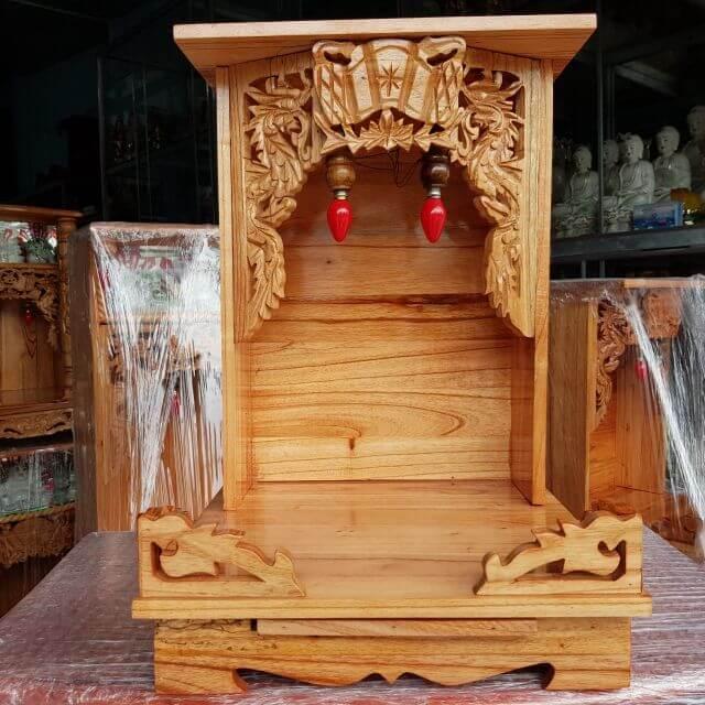 Kích thước bàn thờ Thần Tài chuẩn phong thủy giúp nâng cao giá trị tâm linh