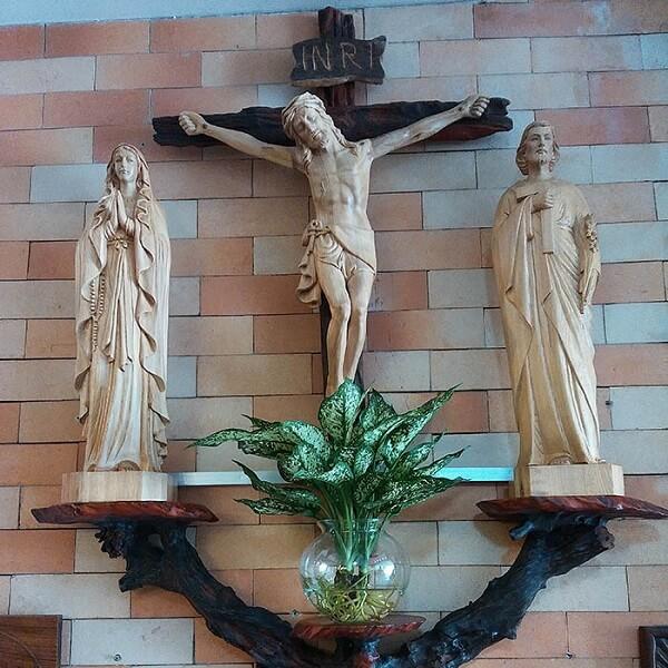 Bàn thờ Công Giáo Tâm Phát độ bền cao