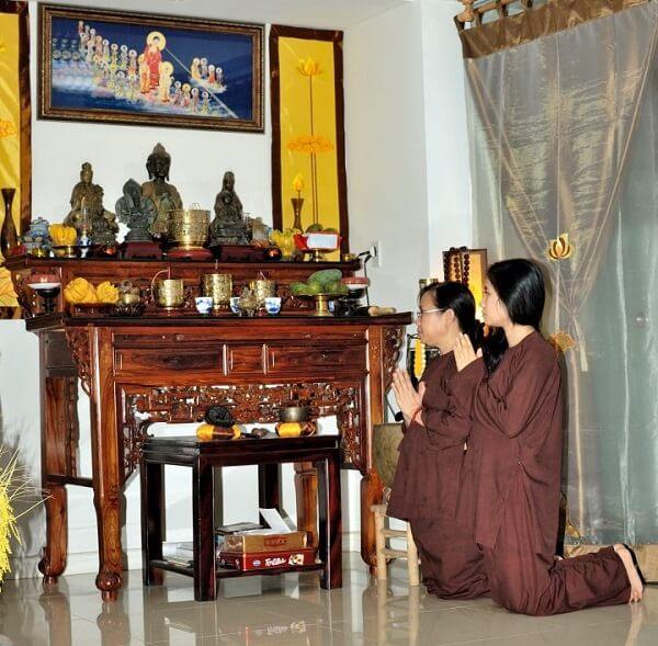Cách Bài Trí Bàn Thờ Phật tại gia đẹp, đơn giản, dễ làm