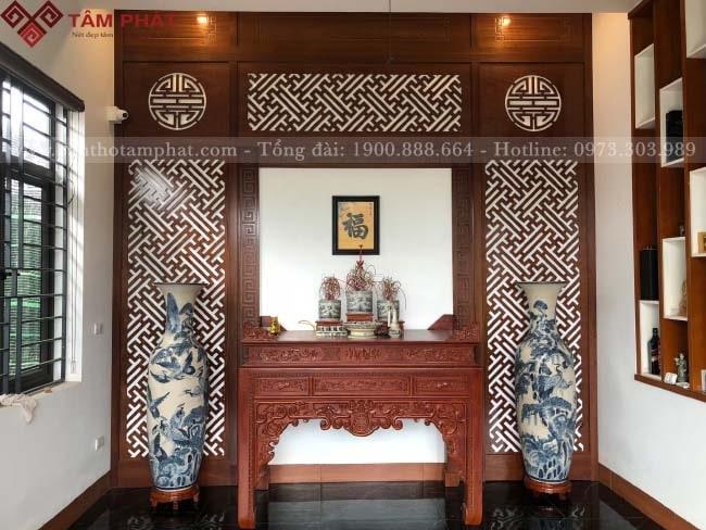 Feedback lắp bàn thờ từ anh Đô chung cư Carillon 3, Tân Bình