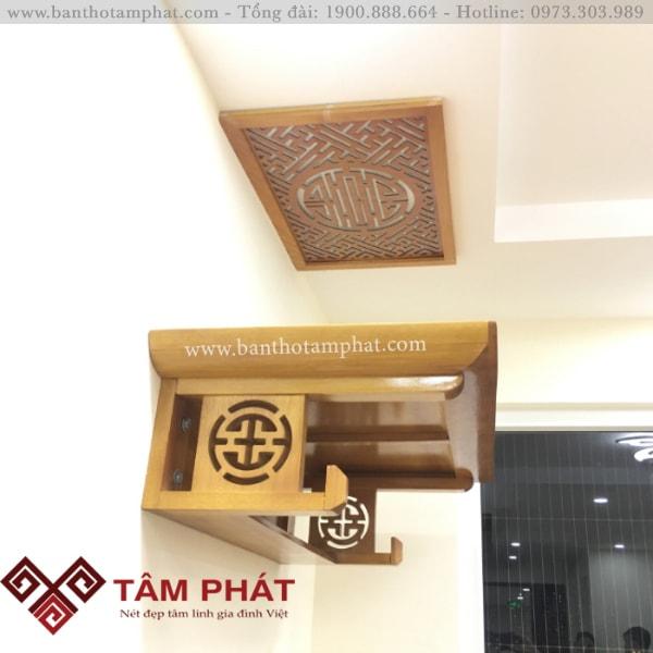Bàn thờ Tâm Phát bảo hành 5 - 25 năm