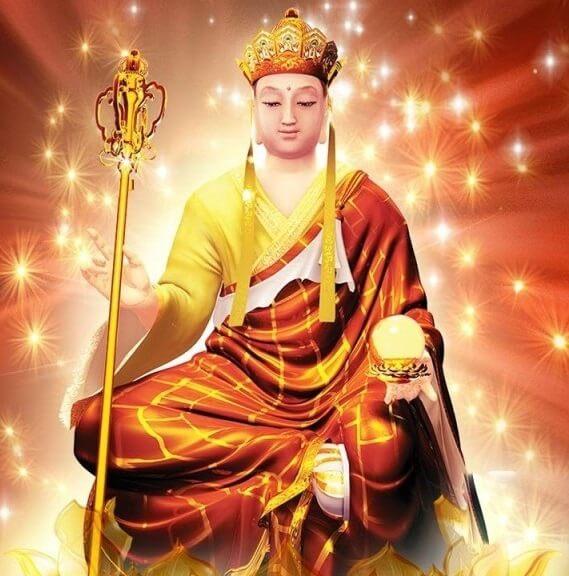 Thần chú Địa Tạng Vương Bồ Tát