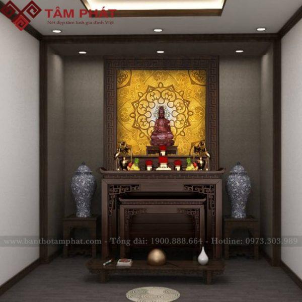 Mẫu bàn thờ 2 tầng tương tự khác