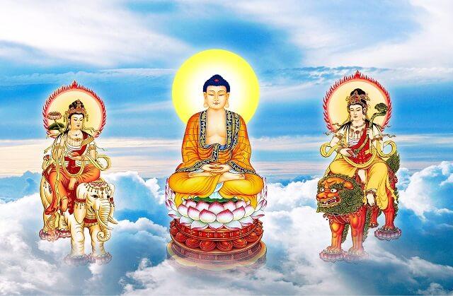 Tranh treo phòng thờ Phật