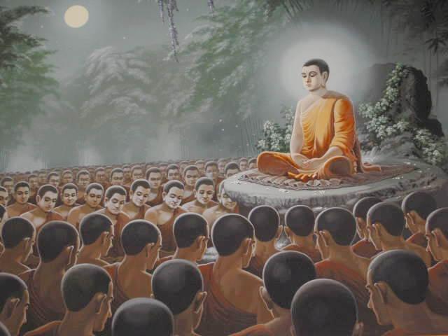 Xá lợi Phật Thích Ca được chia làm 8 phần sau đó gộp lại để tôn thờ