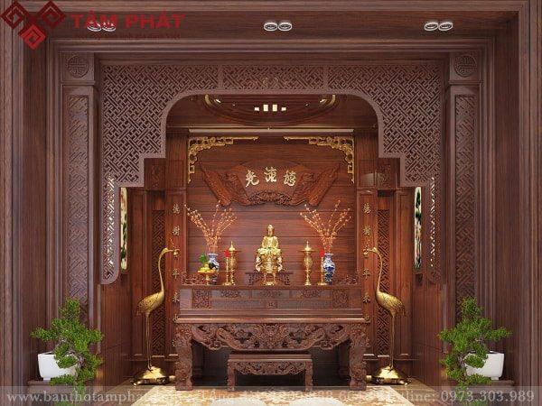 Sập thờ đẹp mẫu ST050