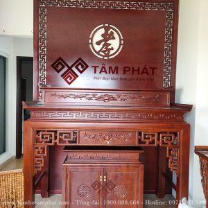 Mẫu bàn thờ 2 tầng BT1088