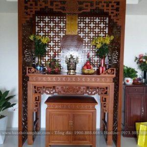 Mẫu bàn thờ đẹp thiết kế tương tự BT1091