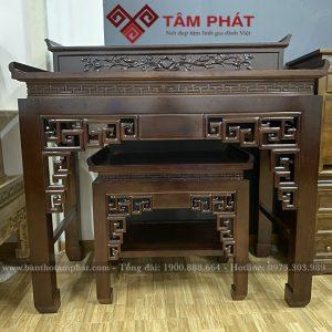 Bàn thờ gỗ đẹp mẫu BT0063