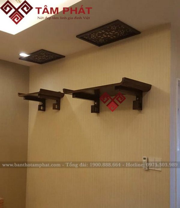 Mẫu bàn thờ treo 2 tầng TT0091